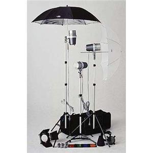View TL-480 Light Kit, 3 Versalight J-160 Monolight Strobe Outfit. Product photo