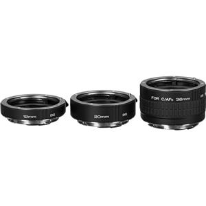 Superb DG Auto Extension Tube Set for the Canon EOS AF Mount. Product photo