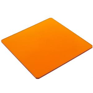 "Best-selling Orange #21 Filter 4x4"" Resin Product photo"