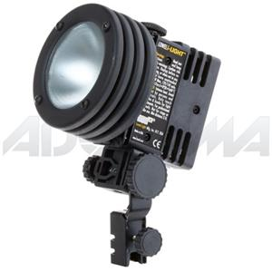 Order id-Light, Focusable & Dimmable 55 Watt Tungsten Camera Top Light 12/14v; with 4-pin XLR Connecto Product photo