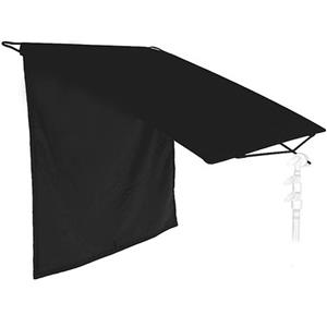 "Amazing 24x72"" Floppy Cutter, Opens on the 72"" Side Only, Black Textile. Product photo"