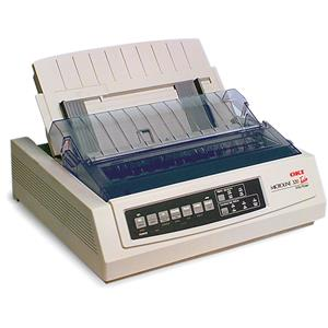 Valuable Microline 320T, 9-Pin Turbo Dot Matrix Impact Printer, for All Invoice Printing Needs. Product photo