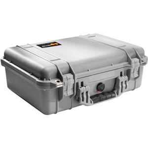 Longstanding 1500 Watertight Hard Case with Foam Insert - Silver Product photo