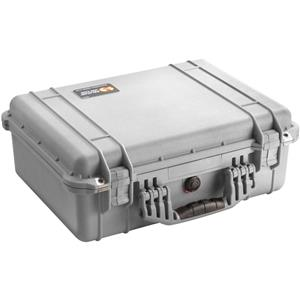 Magnificent 1520 Watertight Hard Case with Foam Insert - Silver (Gray) Product photo