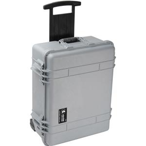 Ultimate 1564 Watertight Hard Case with Moveable Divider Interior & Wheels - Silver Product photo