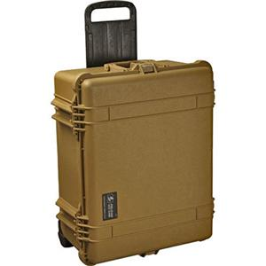 Info about 1610 Watertight Hard Case with Padded Dividers & Wheels - Desert Tan Product photo
