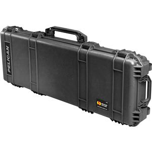 """High-class 1720 Watertight 42"""" Gun Case with Wheels, Without Foam - Charcoal Black Product photo"""