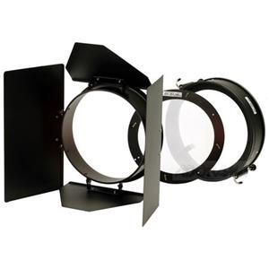 "Information about 4-way Barndoor Set with Diffuser for all 7.5"" Reflectors. (PL7BDK) Product photo"
