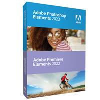 Image of Adobe Photoshop and Premiere Elements 2022 Software, DVD