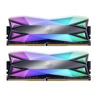 Image of XPG SPECTRIX D60G RGB 16GB (2x8GB) DDR4 4133MHz CL19 Gaming Memory Module, Gray