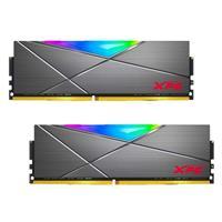 Image of XPG SPECTRIX D50 RGB 16GB (2x8GB) DDR4 4133MHz Memory Module, Gray