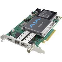 Image of AJA KONA IP 8-Lane PCIe 2.0 Video & Audio Desktop I/O Card