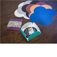 "Image of TAP CD/DVD Petal Case, Holds One 5x5"" Standard CD or DVD Pack of 100, Color: Kraft"