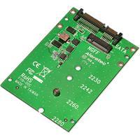 """Image of Aleratec M.2 NGFF SATA SSD to 2.5"""" SATA Converter, 2-Pack"""