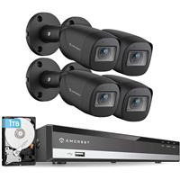 Image of Amcrest HD 1080P 4 Channel Video Security System with DVR & 4x 2MP IP67 Outdoor Bullet Cameras w/HDD