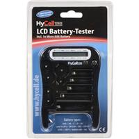 Image of Ansmann LCD Battery Tester for AAA, AA, C, D, 9V, Lady N (LR1), CR123A, CR2, CR-V3, 2CR5, CR-P2 & Button Cell Batteries