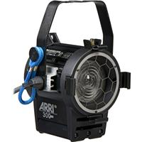 "Arri Junior 300 Tungsten Fresnel Light with 3"" Lens, Black Hanging Model, 300 Watt, 120 Volts A Product image - 59"