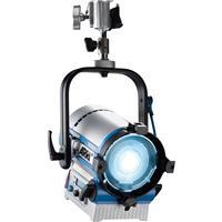 Image of ARRI L5-C Color LED Fresnel Pole Operated Light, 2800K-10000K White Light Color Temperature, 50,000Hrs Estimated LED Lifetime (L70), Blue/Silver