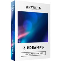 Arturia 3 Preamps You'll Actually Use - Vintage Preamp Plug-In License, Electronic Download