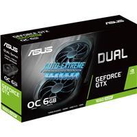 Image of ASUS Dual NVIDIA GeForce GTX 1660 SUPER EVO OC Edition 6GB GDDR6 Gaming Graphics Card, PCI Express 3.0, 1x DVI, 1x Display Port & 1x HDMI