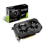 Image of ASUS TUF NVIDIA GeForce GTX 1650 SUPER OC Edition 4GB GDDR6 Gaming Graphics Card, PCI Express 3.0, 1x DVI, 1x Display Port & 1x HDMI