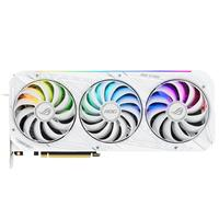 Image of ASUS ROG Strix NVIDIA GeForce RTX 3080 White Edition 10GB GDDR6X Gaming Graphics Card, PCI Express 4.0, 3x DisplayPort and 2x HDMI 2.1