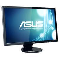 "Image of ASUS VE248H 24"" Widescreen LED Backlit LCD Monitor, 1920 x 1080 Resolution, 250cd/m2 Brightness, 170deg./160deg. Viewing Angles, 16:9 Aspect Ratio"
