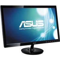 """Image of ASUS VS248H-P 24"""" LED Backlit Widescreen Computer Display, 250 cd/m2 Brightness, 1920x1080 Resolution, 50000000:1 Contrast Ratio"""