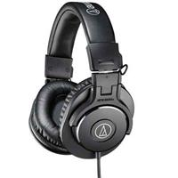 Audio-Technica ATH-M30x Professional Monitor Headphones, 96dB, 15-20kHz, Black