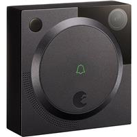 August 1.2MP Wireless Doorbell Cam with Smartphone Viewing, Dark Gray -  AUG-AB01-M01-G01