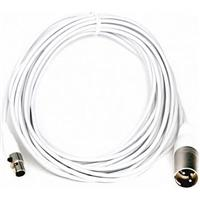 Image of Audix 25' Mini XLR Female to XLR Male Cable for MicroBoom Systems and The Micros Series Microphones, White