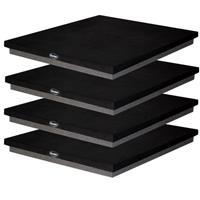 "Auralex 1x22x18"" SubDude-HT Isolation Platform for Home Theater and Subwoofers, 4 Pieces"