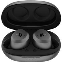 Image of Ausounds AU-Stream Hybrid True Wireless Noise-Cancelling Earbuds, Gray