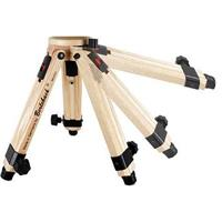Berlebach 50031 Two-section Wood Table Top Tripod Legs with Leveling Ball & Center Column, Heigh Product image - 722