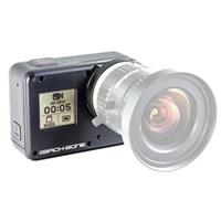 Image of Back-Bone Ribcage H5PRO Modified GoPro HERO5 Black Camera, 12MP, 4K UHD Video, Supports M12 and C/CS-Mount Lenses