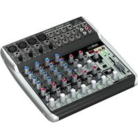 Behringer Xenyx Q1202USB Premium 12-Input 2-Bus Mixer with Xenyx Mic Preamps and Compressors, British EQs and USB/Audio Interface