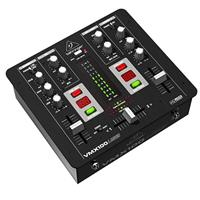 Image of Behringer Pro Mixer VMX100USB Professional 2-Channel DJ Mixer with USB/Audio Interface, BPM Counter and VCA Control