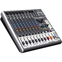 Behringer XENYX X1222USB Premium 12-Input 2/2-Bus Mixer with XENYX Mic Preamps and Compressors, British EQs