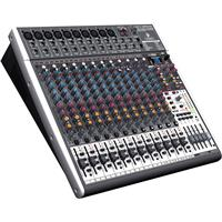 Behringer XENYX X2442USB Premium 24-Input 4/2-Bus Mixer with XENYX Mic Preamps and Compressors, British EQs