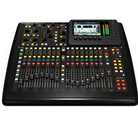 Behringer X32 Compact 40-Input 25-Bus Digital Mixing Console with 16 Programmable Midas Preamps, 17 Motorized Faders