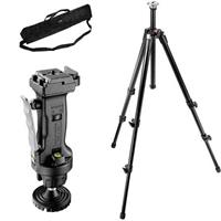 Manfrotto 055XB Black Tripod Kit with 3265 Grip Action Ball Quick Release Head & Tripod Case Product image - 229