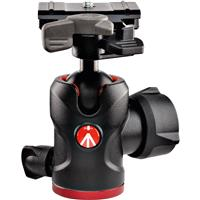 """Image of Manfrotto 494 Aluminum Center Ball Head with 200PL-PRO Quick Release Plate, 3.9"""" Height, 17.6 lbs Capacity"""