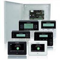 Image of Bosch B5512 Control Panel Kit with B10 Medium Control Panel Enclosure, CX4010 Plug-In Transformer, B430 Plug-In Telephone Communicator and B920 Two-Line Alphanumeric Keypad