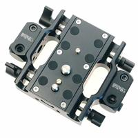 Image of Berkey System Baseplate with Accessory Mount Blocks for Canon EOS C100/C300/C500 Cameras