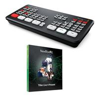 Image of Blackmagic Design ATEM Mini Live Production Switcher Pro ISO - With Titler Live 4 Present Electronic Download