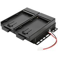 Bon Monitors Dual Type DV Battery Mount for FM-055F & RM-072S Monitors, Sony BP-U Battery