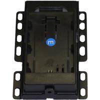 Bon Monitors Single Type DV Battery Mount for BEM-072/H, FM-073SC/H, BW-100ST/SR Monitors, Canon Battery