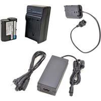 Image of Bescor EN-EL15 Battery, Charger, Coupler & AC Adapter Kit for Select Nikon Cameras