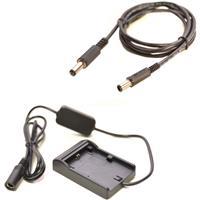 Image of Bescor FZ10012VPAN Battery Plate Converts FZ100 Battery to 12vdc 25W with Panasonic Video Camera Adapter