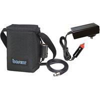 Bescor 12 Amp Shoulder Battery Pack with One Cigarette & One 4 Pin XLR Output, with Charger. Product image - 422